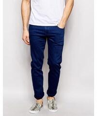 ASOS - Schmal geschnittene Stretch-Jeans in Blau - Blau
