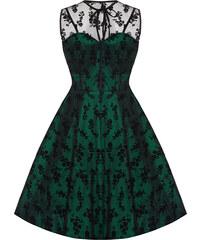 Retro šaty Voodoo Vixen Penny Green M