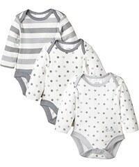 Twins Unisex Baby - Langarm-Body im 3er Pack