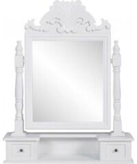 Antický toaletní stolek se zrcadlem