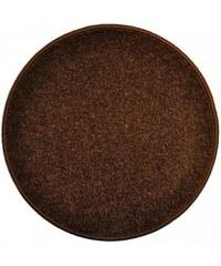 Eton hnědý koberec kulatý