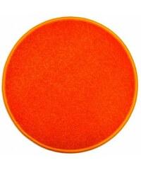 Eton oranžový koberec kulatý