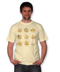 PANDEMIC Pánské tričko s potiskem Šneci: Všude dobře, doma nejlíp