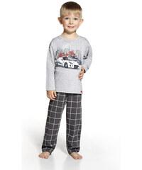"Chlapecké pyžamo Cornette ""Lets go"" YOUNG, KIDS, šedá"