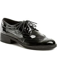 Dámská obuv IMAC U1672-61 černé společenské lakýrky