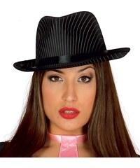 Fiestas Guirca Borsalino - gangsterský proužkovaný klobouk