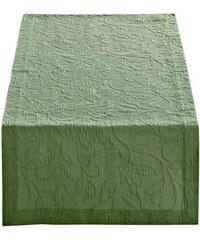 PICHLER Tischläufer grün 1 - ca. 50/150 cm,2 - ca. 50/260 cm