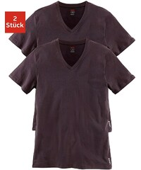 LEVI'S® Levi's Shirts (2 Stück) mit V-Ausschnitt