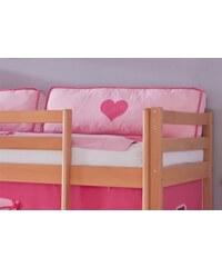 Kinder Kissen-Set (2er Set) RELITA pink/rosa, Herz