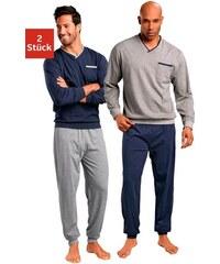 Le Jogger Pyjamas (2 Stück) lang Farb-Set 44/46,48/50,52/54,56/58,60/62