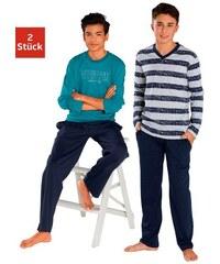 Le Jogger Pyjama lang (2 Stck.) Farb-Set 122/128,134/140,146/152,158/164,170/176,182