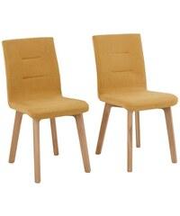 Stühle Laura im 2-er Set in 5 Farben HOME AFFAIRE senf