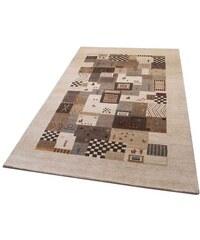 Orient-Teppich Parwis Shiva handgearbeitet Wolle 92 000 Knoten/m² Unikat PARWIS natur 1 (B/L: 70x140 cm),2 (B/L: 90x160 cm),3 (B/L: 120x180 cm),4 (B/L: 170x240 cm),6 (B/L: 200x300 cm)