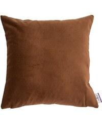Kissenhülle Velvet Linen Pad (1 Stück) Tom Tailor braun 1 (45x45 cm),2 (30x50 cm)