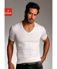 Calvin Klein T-Shirts (2 Stück) mit V-Ausschnitt