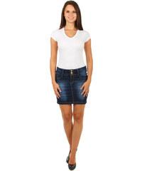 TopMode Stylová riflová sukně modrá