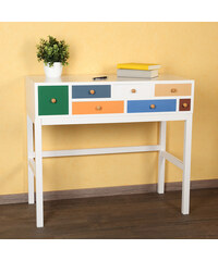 Lesara Table d'appoint style patchwork