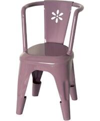 Kovová židlička Maileg purpurová