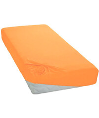 Polášek Jersey prostěradlo pomerančové Rozměr: 60x120 cm