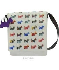 Santoro London - Scottie dogs - Vertikální Taška přes rameno