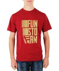 Pánské tričko Funstorm Ritter claret L