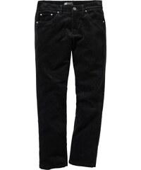 bpc selection Pantalon en velours côtelé Regular Fit Straight, N. noir homme - bonprix