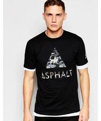 Asphalt Yacht Club - T-Shirt mit Logo - Schwarz