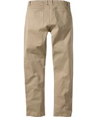 RAINBOW Pantalon extensible Slim Fit Straight beige homme - bonprix