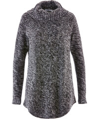 bpc bonprix collection Poncho-Pullover mit langen Ärmeln langarm in grau für Damen von bonprix