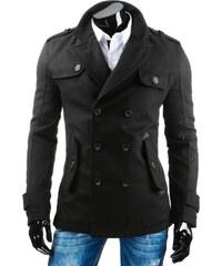 streetIN Pánský kabát - černá Velikost: L