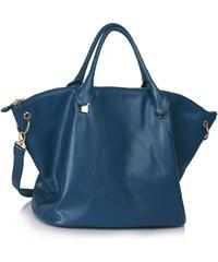 LS fashion Dámská velká kabelka LS00391 modrá
