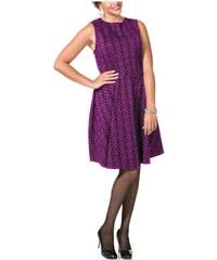 Móda pro plnoštíhlé, značkové šaty také v nadměrné velikosti Joe Browns (vel.50 skladem) 40 lila