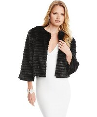Guess by Marciano Kožešinová bunda Elvy Faux-Fur Jacket