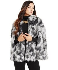 Guess by Marciano Kožich Raquelle Faux-Fur Cape