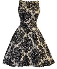 LADY VINTAGE Dámské retro šaty Čarovný Damašek