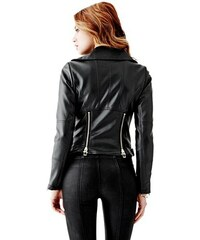Guess Bunda Long-Sleeve Zip Moto Jacket