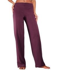 Kalhoty pro volný čas rubínově červená - N-velikosti