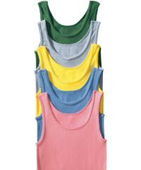 PETITE FLEUR Spodní košilky (5ks), sheego zelená+šedá+žlutá+modrá+růžová - dvojité žebrování