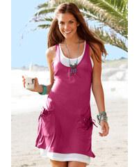 BEACHTIME Plážové šaty, BEACH TIME jahodová