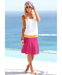 BEACH TIME Plážové šaty, Beachtime bílá/oranžová/růžová