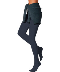 Pletené punčochové kalhoty, Thermosan námořnická modrá