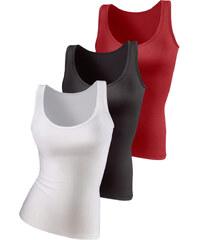 VIVANCE ACTIVE Topy, Vivance Aktive (sada 3 ks) červená + černá + bílá