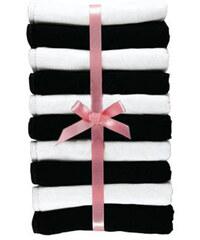 GO IN Bokové kalhotky, GO IN (10 ks) bílá + černá