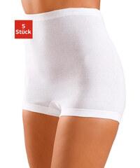 PETITE FLEUR Kalhotky s nohavičkami, (5 ks) 5x bílá