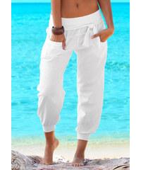 BUFFALO LONDON Plážové kalhoty bílá
