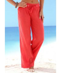 BEACH TIME Plážové kalhoty, Beachtime korálová