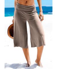 LASCANA Plážové kalhoty, LASCANA hnědošedá