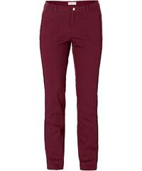 SHEEGO STYLE Úzké kalhoty, sheego Style vínová - Normální délka (N) 40