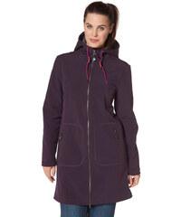 POLARINO Softshellový kabát, Polarino lilková - Normální délka (N)