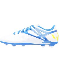 adidas Performance MESSI 15.3 FG/AG Fußballschuh Nocken white/prime blue/core black